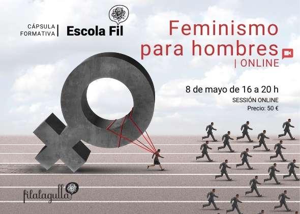 Cartel Feminismo para hombres Online